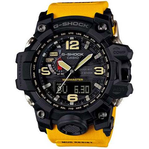 CASIO G-SHOCK MUDMASTER TRIPLE SENSOR SOLAR WATCH GWG-1000-1A9
