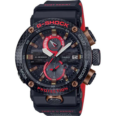 CASIO G-SHOCK GRAVITY MASTER CARBON & TITANIUM BLUETOOTH SOLAR WATCH GWRB1000X-1A