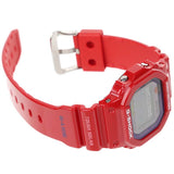 CASIO G-SHOCK G-LIDE TOUGH SOLAR MULTI BAND 6 RED WATCH GWX-5600C-4D