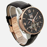 INGERSOLL MEN'S THE GRAFTON AUTOMATIC LEATHER WRIST WATCH I00702