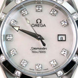 OMEGA AQUA TERRA WOMENS DIAMOND WATCH 25757500
