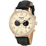 INGERSOLL MEN'S GOLDEN AUTOMATIC CHRONOGRAPH WATCH IN1309RCR-G