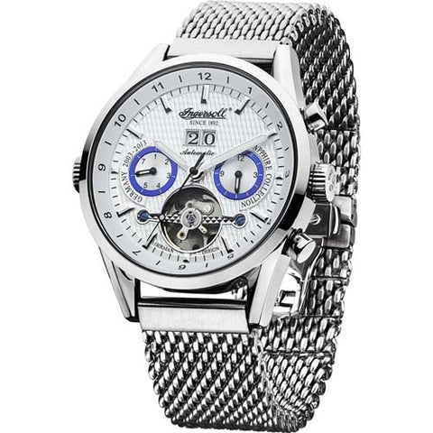 INGERSOLL MEN'S BRANDENBURGER GATE AUTOMATIC WATCH IN1310SLMB-SS