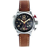INGERSOLL SINCE 1892 GMT LAWRENCE AUTOMATIC LEATHER WATCH IN3218BK-S