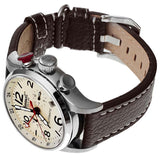 INGERSOLL SINCE 1892 GMT LAWRENCE AUTOMATIC LEATHER WATCH IN3218CR-S