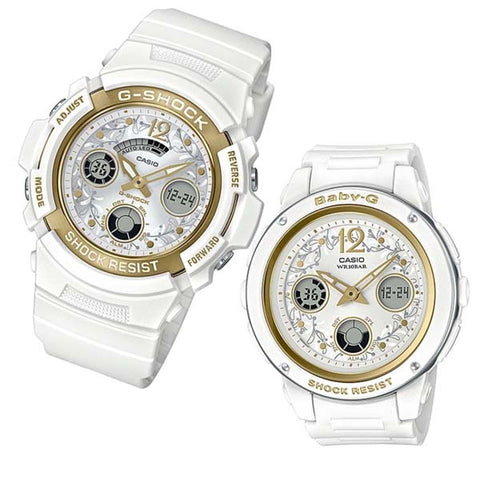 CASIO G-SHOCK BABY-G PRESENTS LOVER'S COLLECTION 2019 RESIN WATCH LOV19A-7A