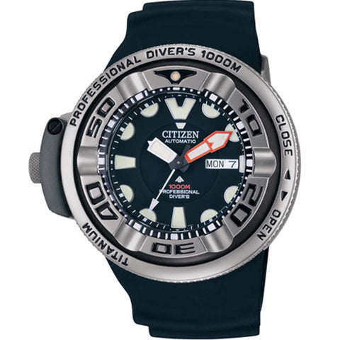 CITIZEN 1000M PROFESSIONAL DIVER'S WATCH NH6930-09FB