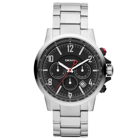 DKNY SATINLESS STEEL QUARTZ MEN'S WATCH NY1326