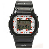 "CASIO G-SHOCK x DQM NEW YORK WITH LOVE WATCH ""I LOVE NY"" DW-5600"