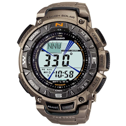 CASIO PROTREK TOUGH SOLAR POWERED DIGITAL WATCH PRG-240T-7D