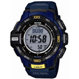 CASIO PROTREK COMPASS BLUE SOLAR POWERED WATCH PRG-270-2