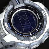 CASIO PROTREK COMPASS WHITE SOLAR POWERED WATCH PRG-270-7