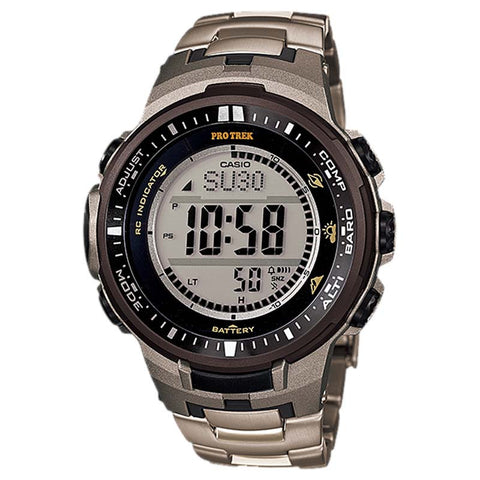 CASIO PROTREK COMPASS MULTIBAND6 SOLAR MENS WATCH PRW-3000T-7