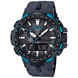 CASIO PROTREK COMPASS MULTIBAND6 SOLAR TITANIUM BAND WATCH PRW-6100Y-1A