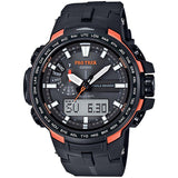 CASIO PROTREK COMPASS MULTIBAND6 SOLAR TITANIUM BAND WATCH PRW-6100Y-1