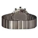 ISSEY MIYAKE TRAPEZOID GREY STAINLESS STEEL WATCH SILAZ003