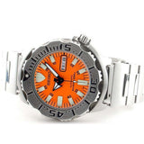 SEIKO ORANGE MONSTER AUTOMATIC STAINLESS STEEL WATCH SKX781K1