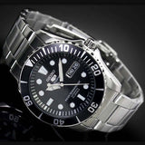 SEIKO 5 SPORTS MEN'S AUTOMATIC OYSTER DIVER DAY/DATE WATCH SNZF17K1