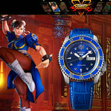 SEIKO 5 SPORTS x STREET FIGHTER V CHUN-LI MODEL LIMITED EDITION WATCH SRPF17K1