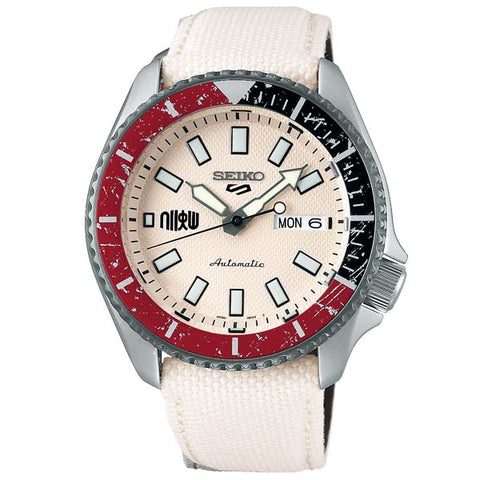 SEIKO 5 SPORTS x STREET FIGHTER V RYU MODEL LIMITED EDITION WATCH SRPF19K1