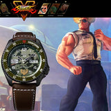 SEIKO 5 SPORTS x STREET FIGHTER V GUILE MODEL LIMITED EDITION WATCH SRPF21K1