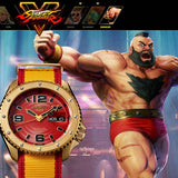 SEIKO 5 SPORTS x STREET FIGHTER V ZANGIEF MODEL LIMITED EDITION WATCH SRPF24K1