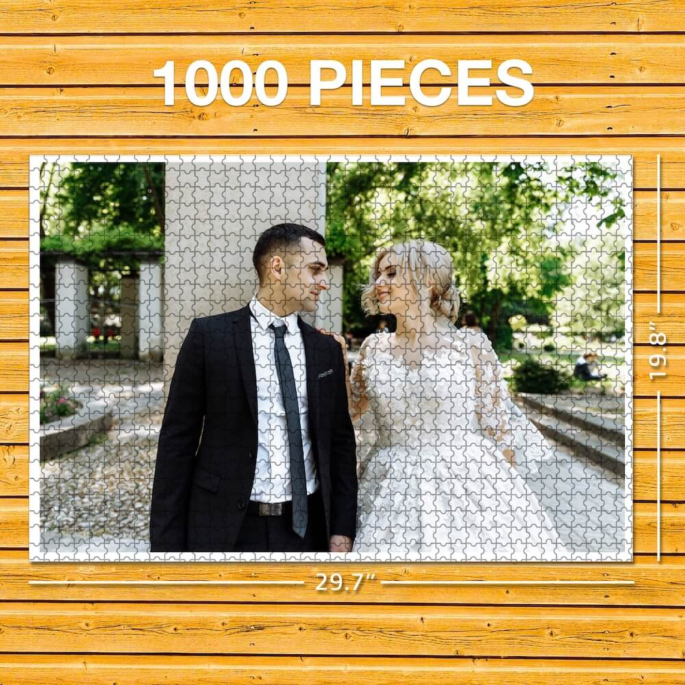 Custom Photo Jigsaw Puzzle - Best Stay At Home Gift
