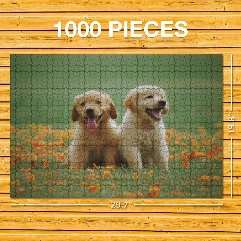 Custom Photo Puzzle - Mother's Day Gift - 63-1000 Pieces