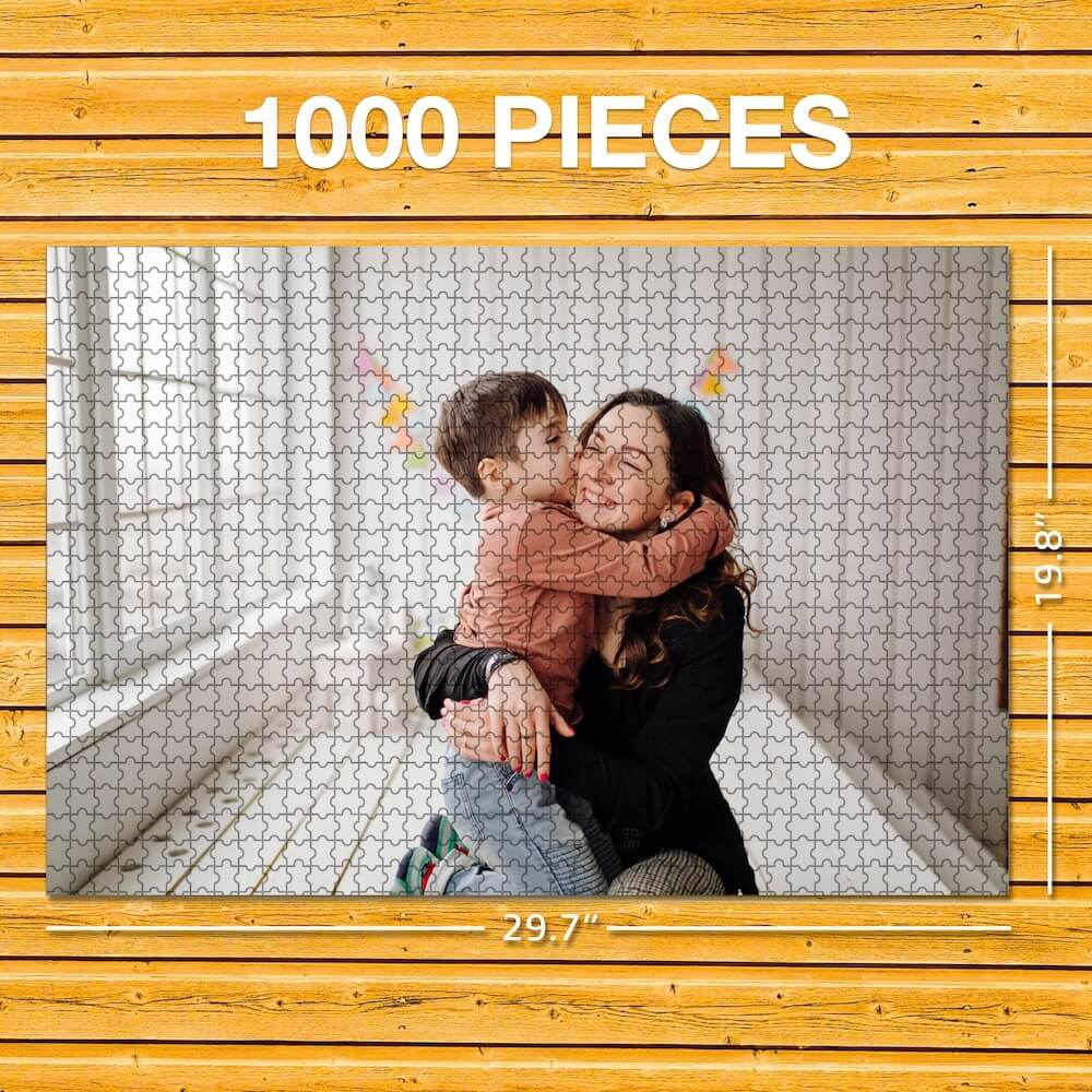 Make Your Own Photo Puzzle - 63-1000 Pieces