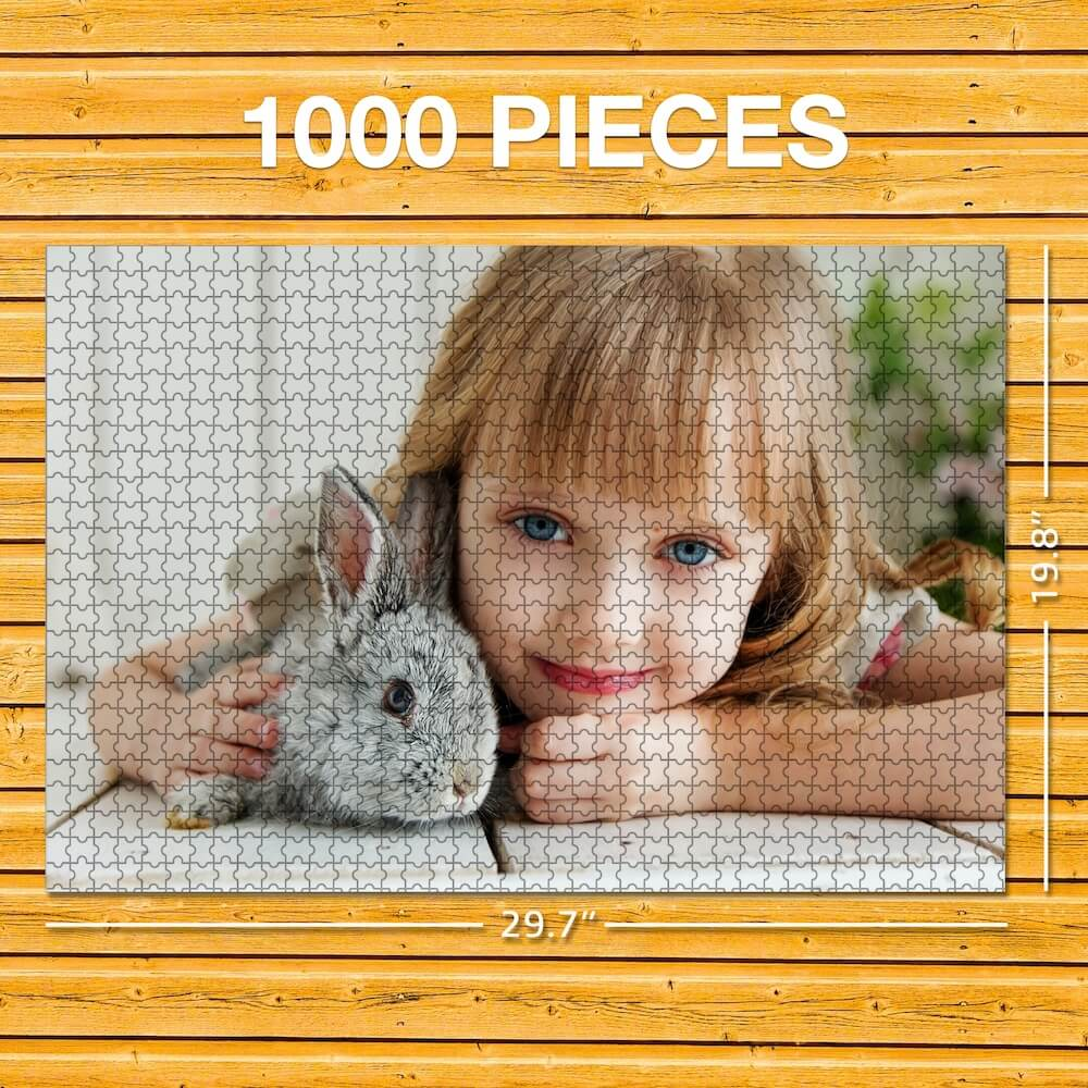 Personalized Photo Puzzle - 63-1000 Pieces