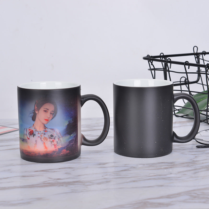 Custom Photo Heat Magic Color Change Mug