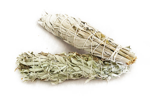 White Sage + Lakota Sage Smudge Bundle