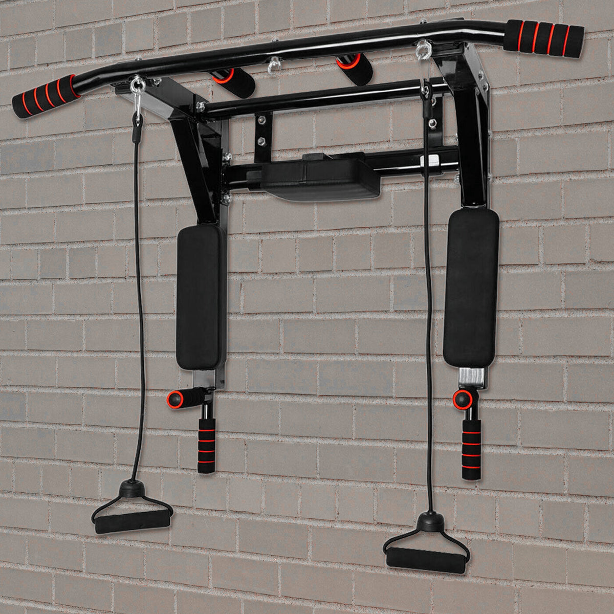 Punch Bag Pull Up Bar Bracket Wall Mounted Fitness Boxing Training MMA Boxing