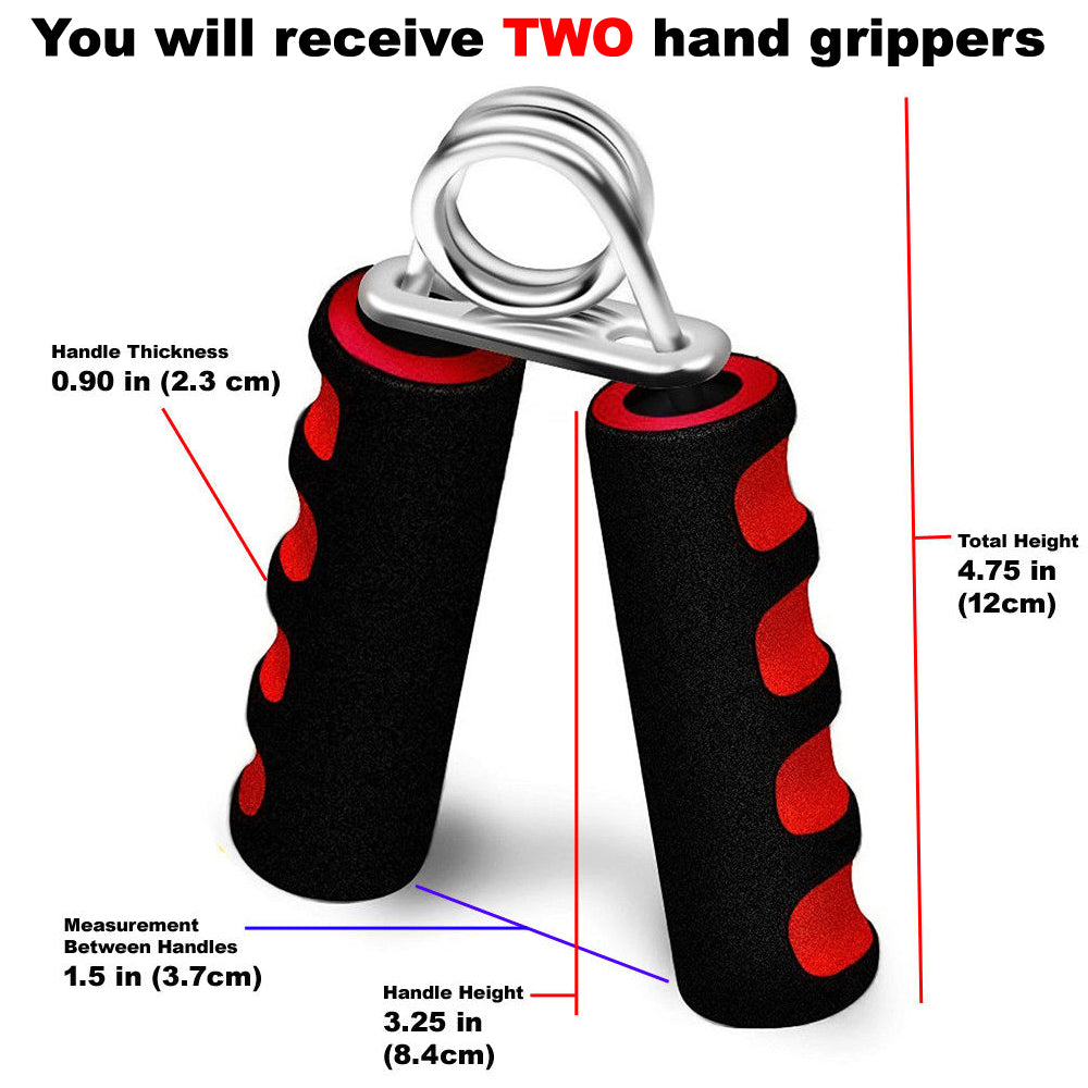PAIR Hand Grip Forearm Exercisers Strenghtener Heavy Home Gym Exerciser