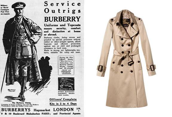 buy popular 88438 0a7ee THE BURBERRY TRENCHCOAT HISTORY AND EVOLUTION – GIANNOPOULOS.GR
