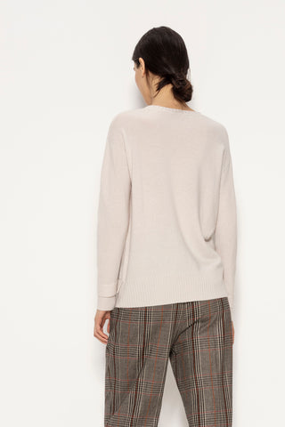 Luisa Cerano Sweater  | Grey / Beige