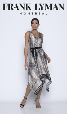 Frank Lyman Dress | Black / Animal