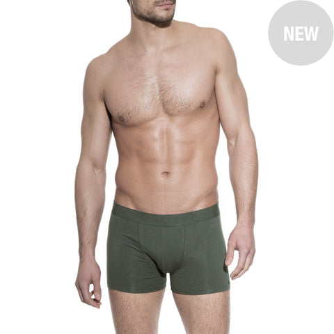 Bread & Boxers Men's Underwear Boxer Brief | ARMY GREEN