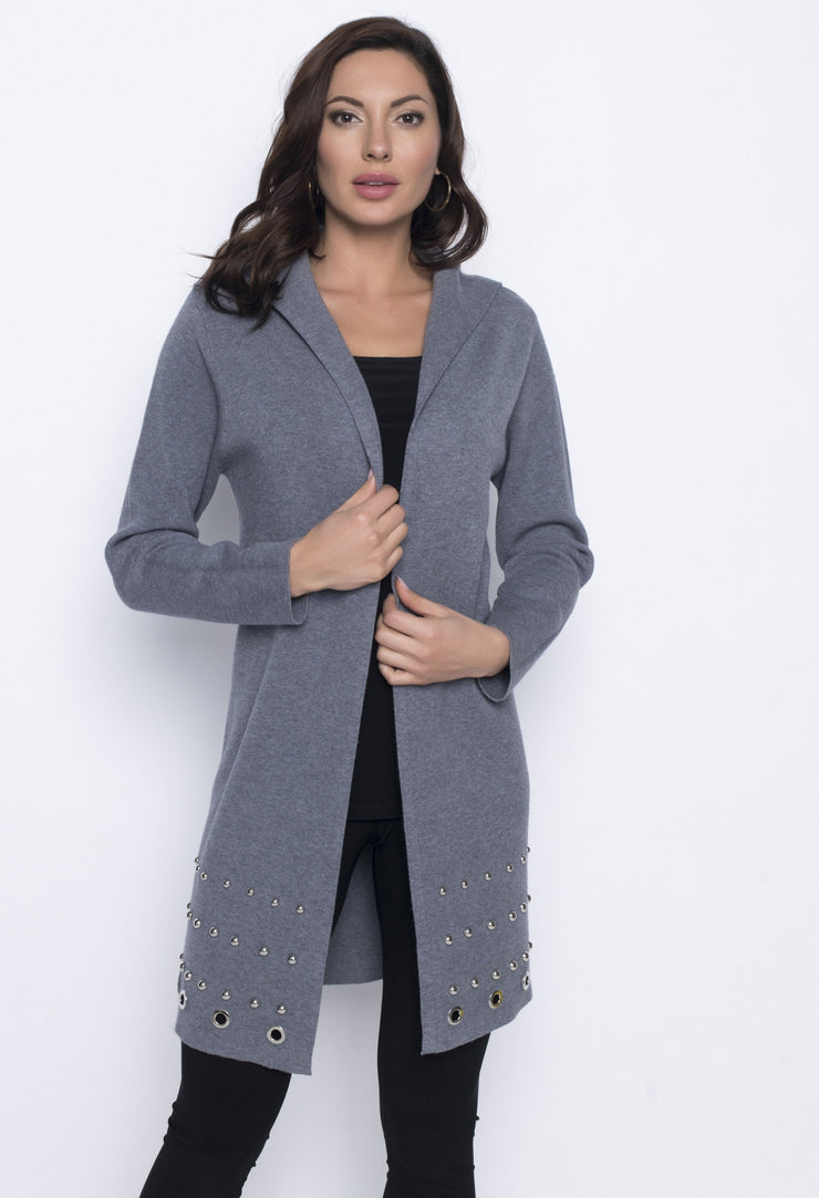 Frank Lyman Cardigan Long | Grey