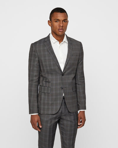 Lindbergh Suit | Grey Check