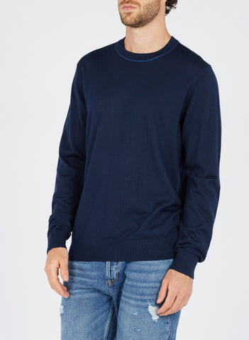 Paul Smith Sweater Merino Wool | Dark Navy