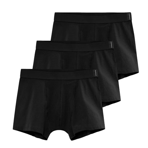 Bread & Boxers Men's Underwear Boxer Brief 3-pack | BLACK
