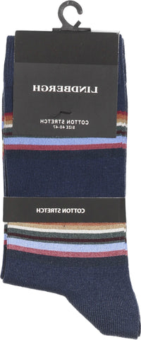 Lindbergh Socks Stripes | Navy