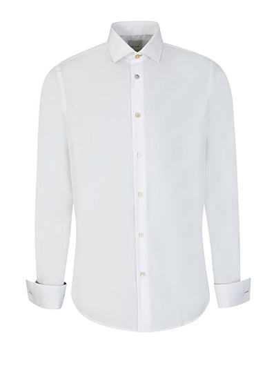 Paul Smith Shirt Double Cuff | White