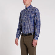 Paul & Shark Shirt Checked Regular fit | Blue Multi