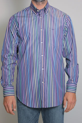 Paul & Shark Shirt Stripes Regular Fit | Multicolor