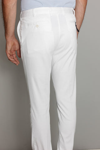 Paul & Shark Trousers Shark Fit | White