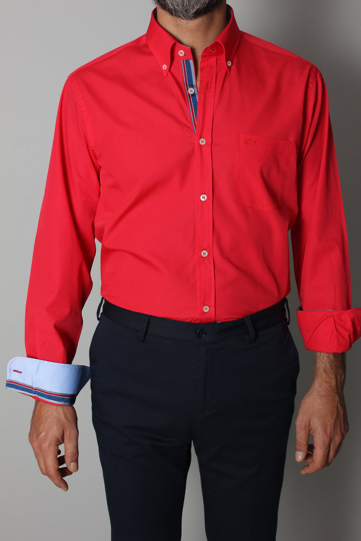 Paul & Shark Shirt Regular Fit | Red