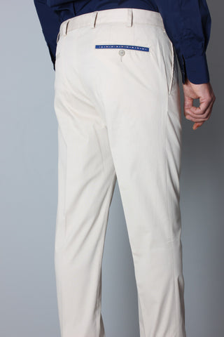 Paul & Shark Trousers with Flags Shark Fit | Light Beige