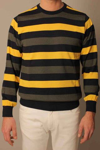 Paul & Shark Sweater Stripes | Yellow / Khaki